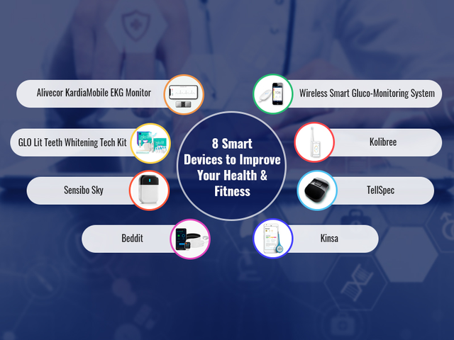 Smart devices to improve your health.