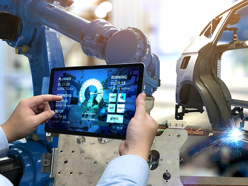 Use of Smart Device Over Industrial Automation